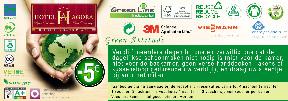 Green attitude eco friendly